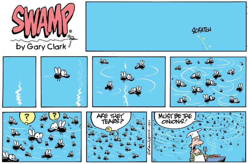 Swamp Cartoon - Swamp BBQ Tears ComicDecember 30, 2018