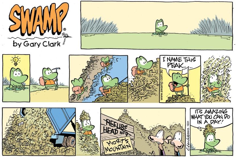 Swamp Cartoon - Mort Mountain ComicJanuary 13, 2019