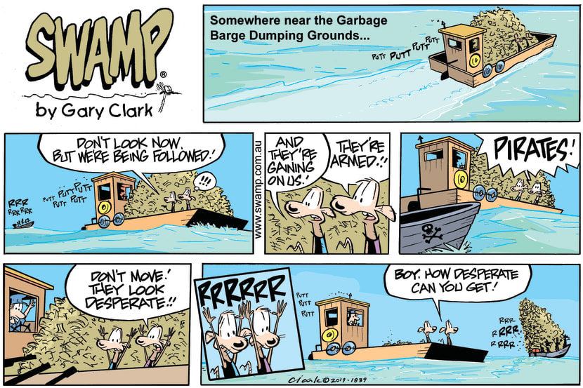 Swamp Cartoon - Swamp Rats Hold Up ComicMarch 24, 2019