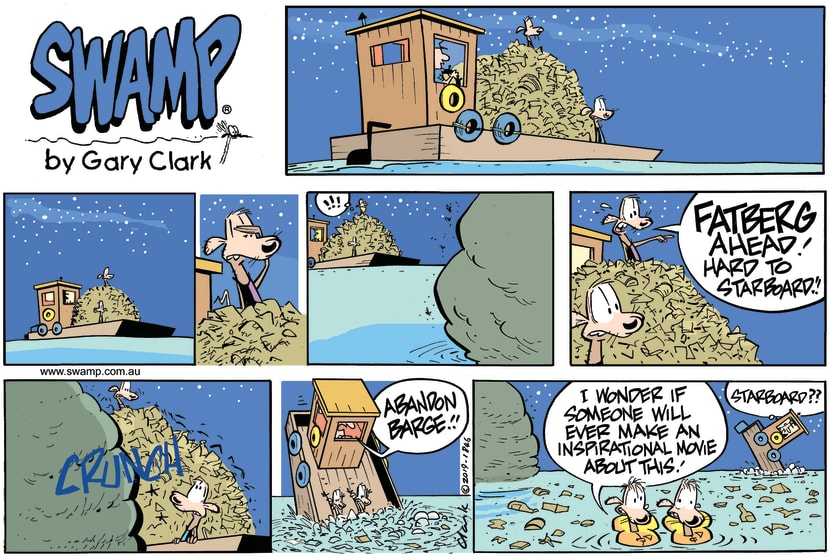 Swamp Cartoon - Swamp Rats Fatberg ComicMay 12, 2019