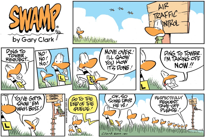 Swamp Cartoon - Ding Duck BossJune 23, 2019
