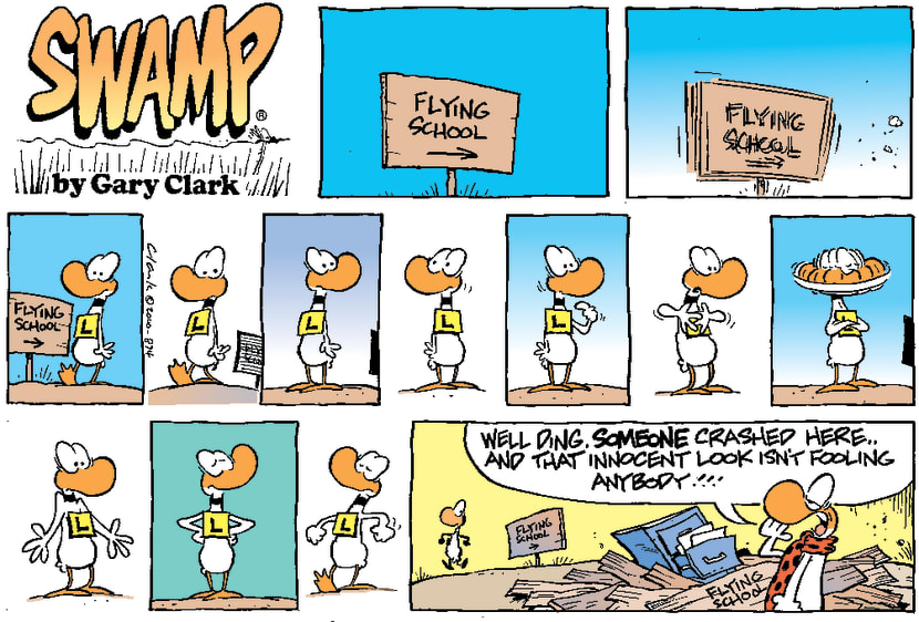 Swamp Cartoon - Not Blaming anyoneApril 9, 2000