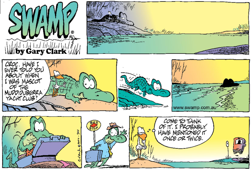 Swamp Cartoon - Another Yacht StoryNovember 12, 2000