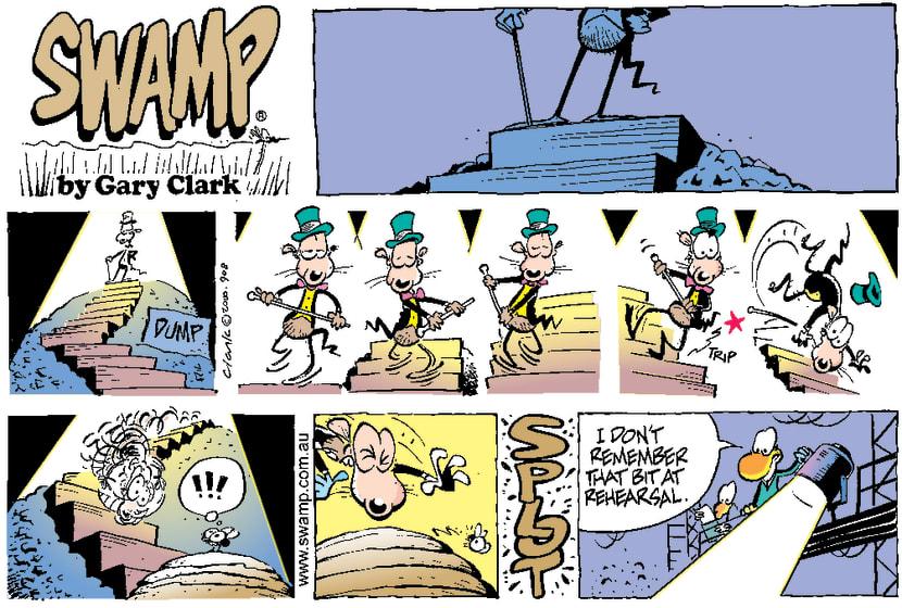 Swamp Cartoon - Rat ShowDecember 3, 2000