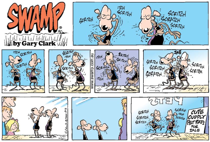 Swamp Cartoon - Such Cute Pet RatsDecember 31, 2000
