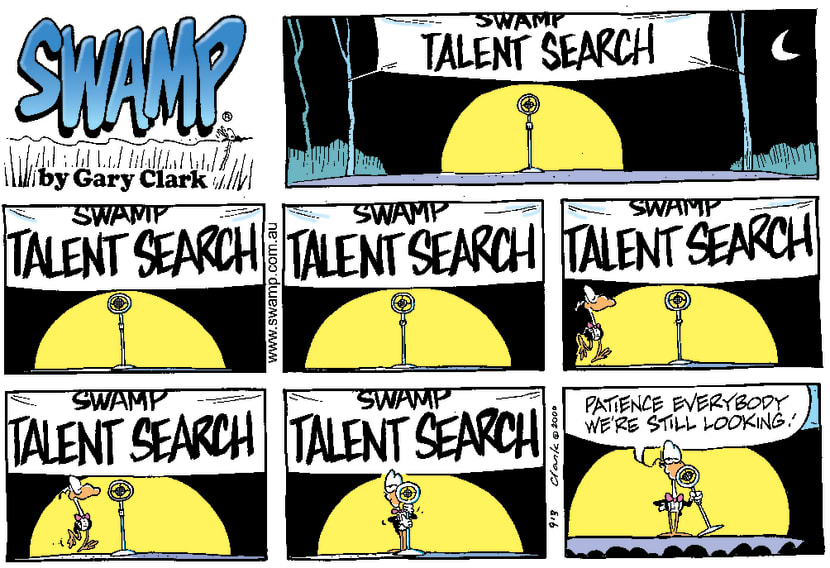 Swamp Cartoon - Swamp Talent SearchJanuary 7, 2001