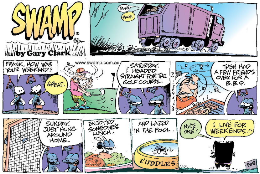 Swamp Cartoon - Nice WeekendFebruary 11, 2001