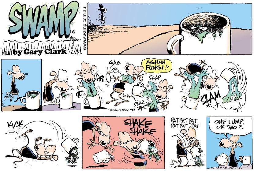 Swamp Cartoon - Mug GrubMarch 18, 2001