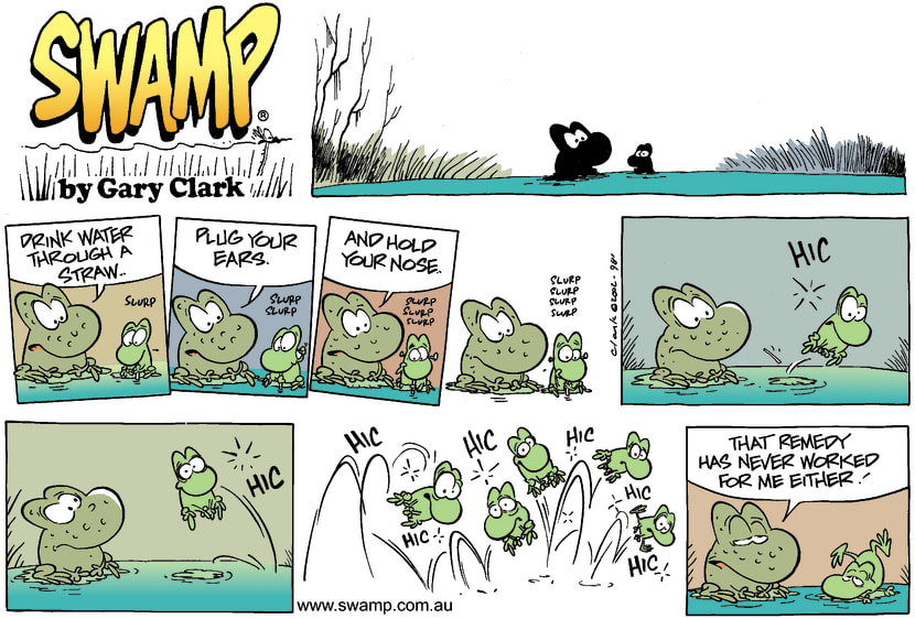 Swamp Cartoon - RemediesApril 28, 2002