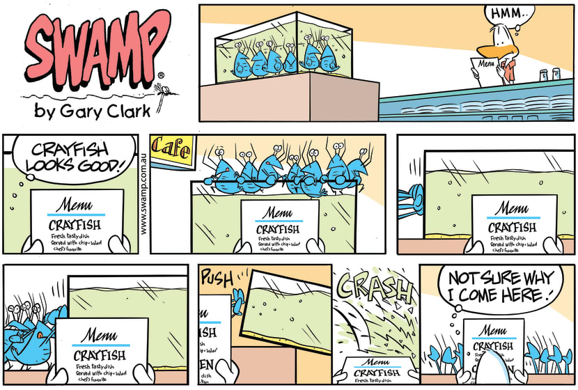 Swamp Cartoon - Crayfish United PlanAugust 23, 2020