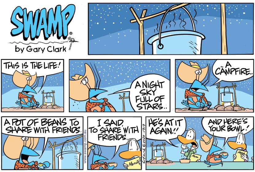 Swamp Cartoon - Bob Crayfish This is the LifeOctober 4, 2020