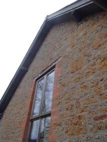 Bruton Somerset bee nest roof cutout 01