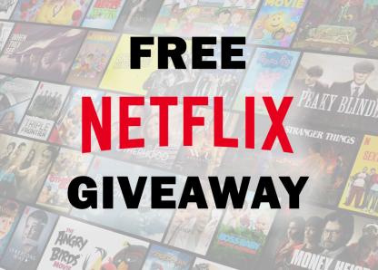 Netflix Gift Card giveaway 1n1