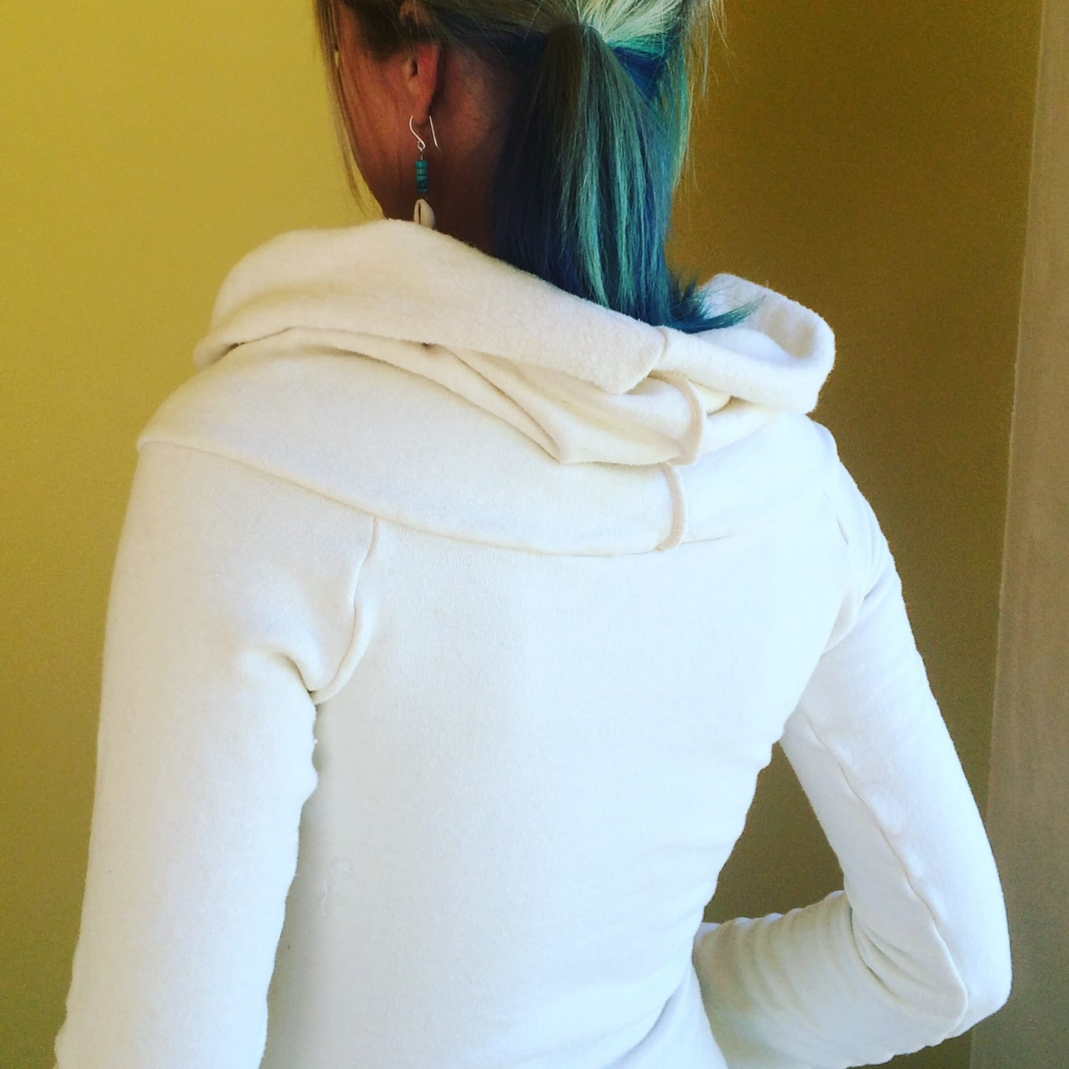 City Sweatshirt got redone this winter! Slouchy with extra tunic neck for additional warmth and comfort.