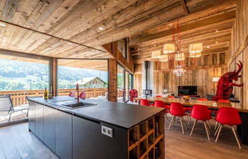 French Alps - Pied de la Plagne - Le Rouge