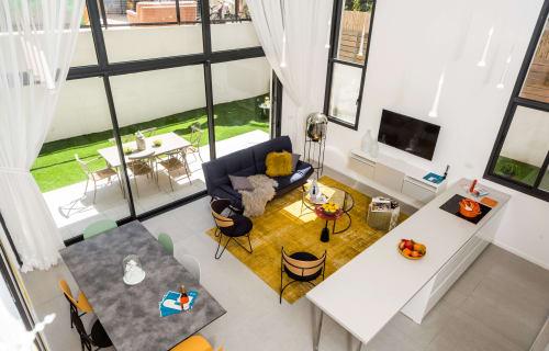Tel Aviv - South Beach Area - Garden Duplex - Merkaz Baalei Melaha
