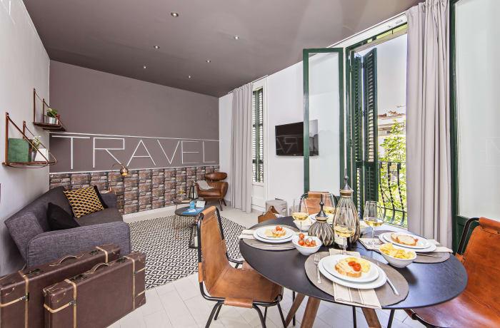 Apartment in Sants III, Plaza España - 1
