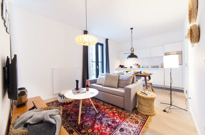 Apartment in Chaussee de Etterbeek I, Eu Quarter - 4