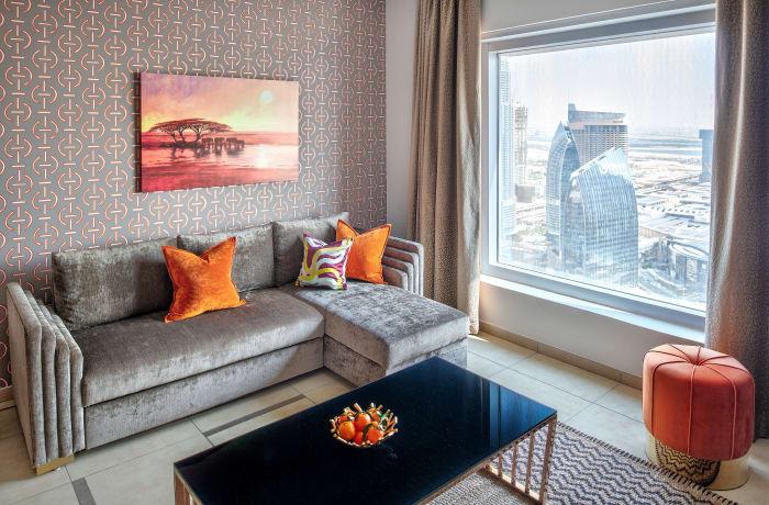 Apartment in Burj Gate Skyline V, Dubai International Financial Center - 0