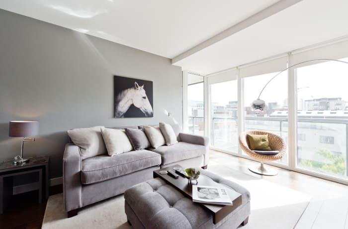 Apartment in Lovely Riverside, Grand Canal Dock - 3