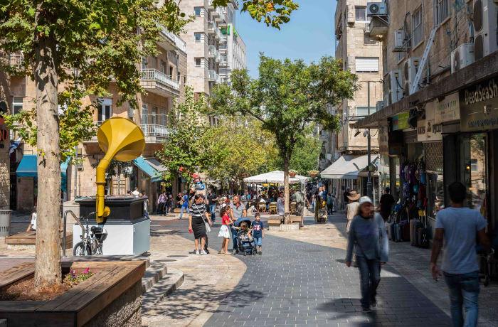 Apartment in Ben Yehuda II, City Center - 0