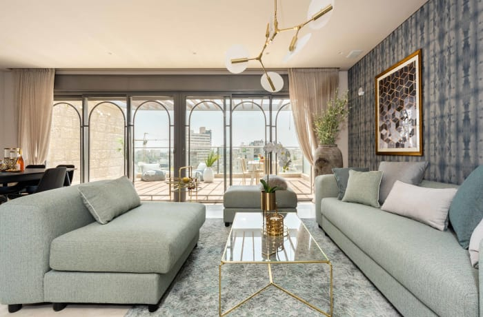 Apartment in HaRav Kook Penthouse, City Center - 2