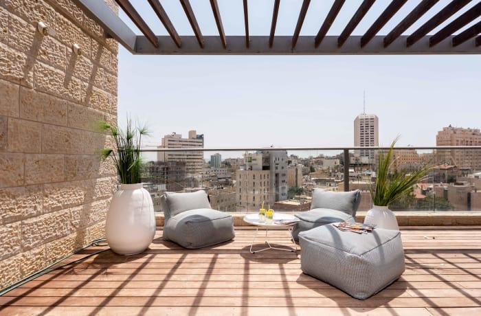 Apartment in HaRav Kook Penthouse, City Center - 5
