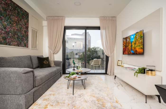 Apartment in Stylish Even Israel IV, City Center - 1