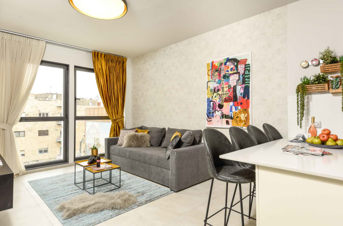 Apartment in Elegant J Tower I, Mahane Yehuda Market - 1