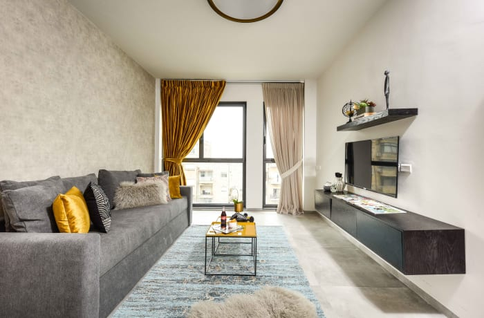 Apartment in Elegant J Tower IV, Mahane Yehuda Market - 2