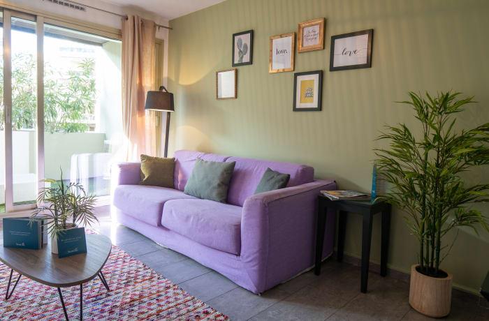 Apartment in Deluxe Terrace 1C, Juan-les-Pins - 1