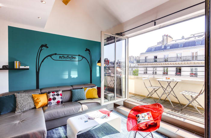 Apartment in Saint Denis Duplexe, Opera - Grands Boulevards (10e) - 4