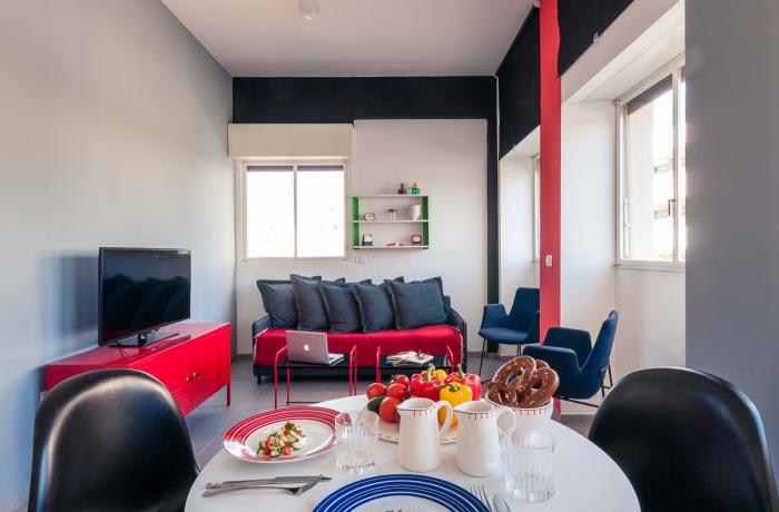 Apartment in Allenby I - Bauhaus inspiration , Central Beach Area - 6