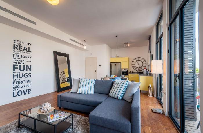 Apartment in Hamelech Hiram, Jaffa Port - 1