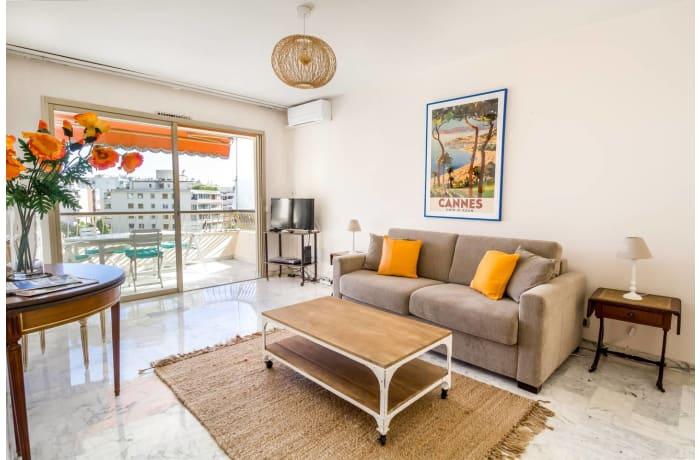 Apartment in La Croisette Terrace, Pointe Croisette - 1