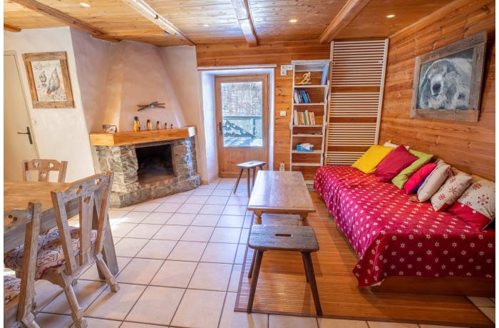 Apartment in Chalet Les Lupins, Les Allues - 1
