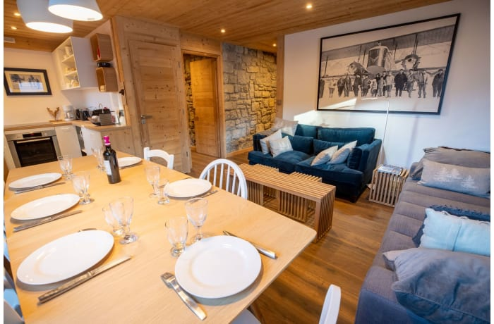 Apartment in Chalet LOurs, Les Allues - 3