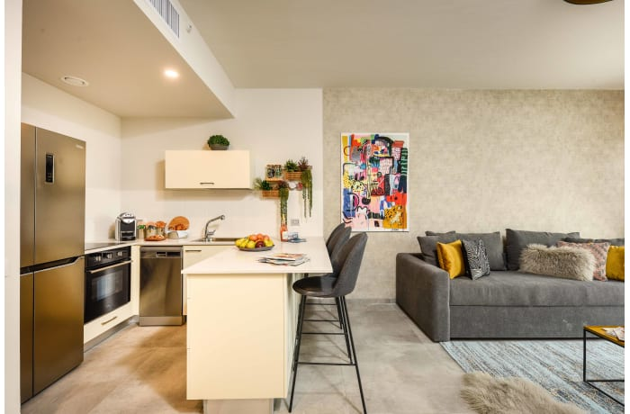Apartment in Elegant J Tower IV, Mahane Yehuda Market - 1
