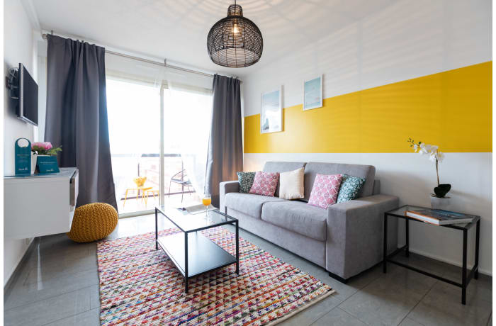 Apartment in Sunny Terrace 2C, Juan-les-Pins - 1