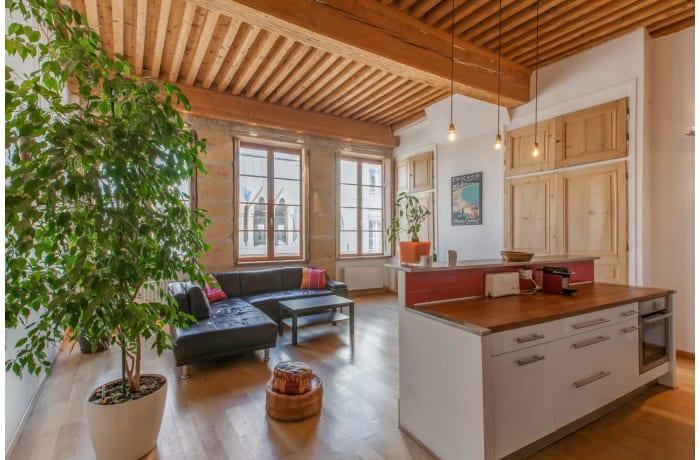 Apartment in Lanterne Chic, Pentes de la Croix Rousse - 6