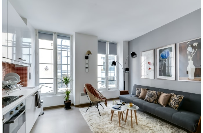 Apartment in Enghien IV, Opera - Grands Boulevards (10e) - 1