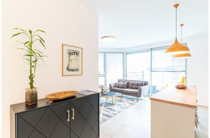 Apartment in Central Tel Aviv Tower, Montefiore - 3