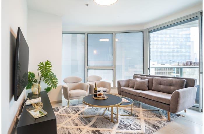 Apartment in Central Tel Aviv Tower, Montefiore - 1