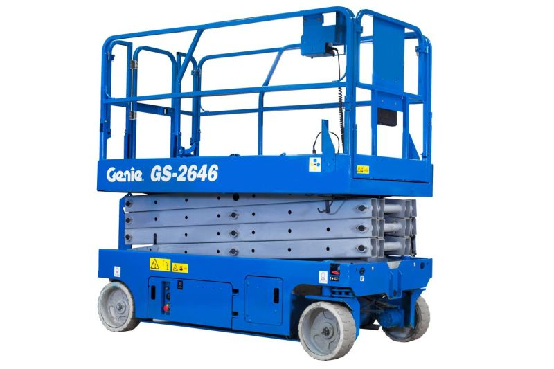 26ft Scissor Lift - Electric