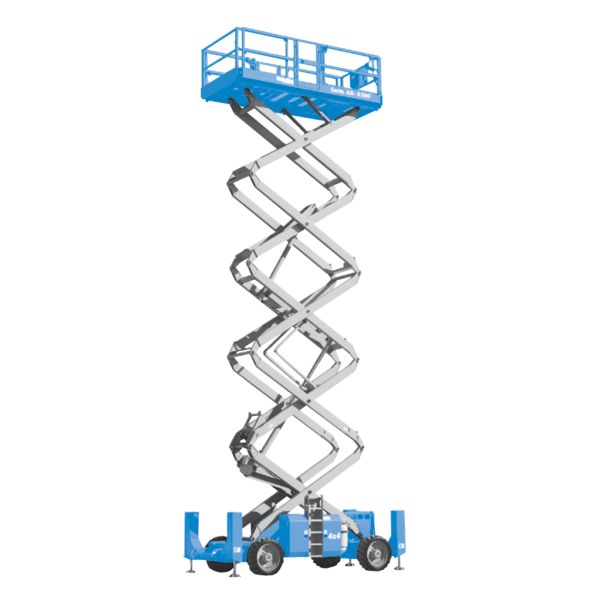 40ft Scissor Lift - Diesel