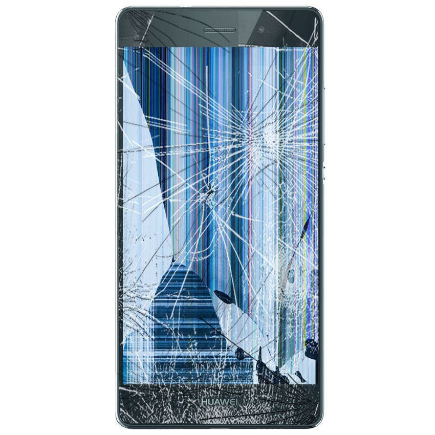 Cracked Huawei screen