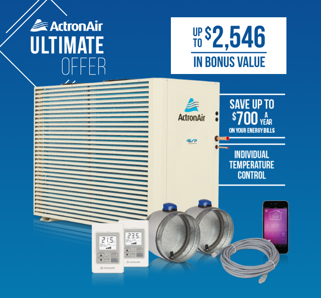 ActronAir Ultimate Offer Promotion