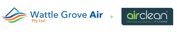 Wattle Grove Air and AirClean Logos
