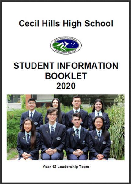 Student Information Booklet
