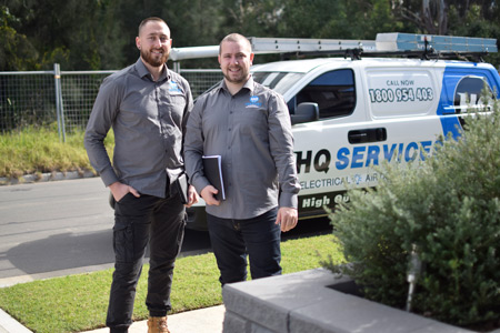 HQ Services Business Owners Jake and Luke